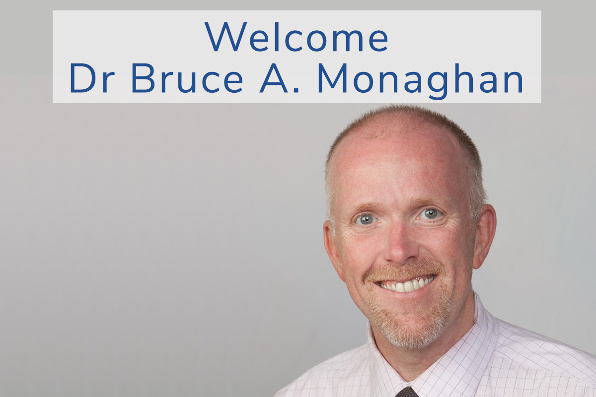 Dr Bruce A. Monaghan